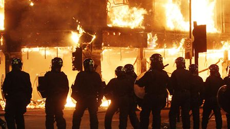 The gang planned to carry out a looting spree in Brent during the London riots in August 2011