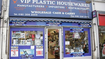 VIP Plastic Homewares in Neasden sold a knife to a 14-year-old boy (Pic credit: Jan Nevill)