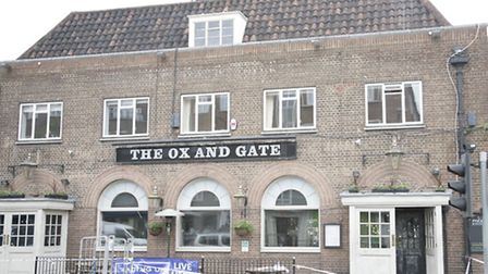 Luke Fitzpatrick had been at the Ox and Gate pub before he was killed
