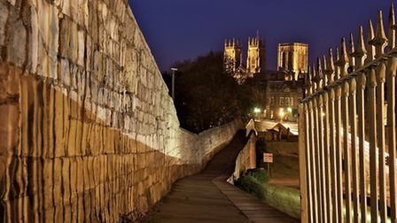 York is famed for its city walls, the longest and most complete in England, first built by the Roman