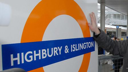 A woman was reportedly hit by a train at Highbury and Islington station
