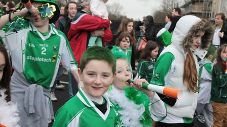 St. Patrick's Day Parade which took place on Saturday