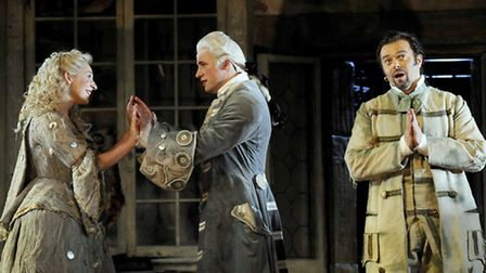 The Barber of Seville performed by the English National Opera . Picture: Alastair Muir