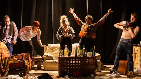 Knock Yourself Out at the Courtyard Theatre. Picture: Kit Oates