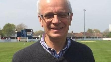 Lowestoft Town FC finance director Mark Kemp. Picture: Courtesy of Lowestoft Town FC