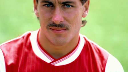 Kenny Sansom captained Arsenal and earned 86 England caps