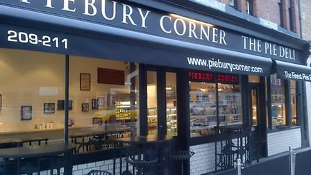 Piebury Corner in Holloway Road. Picture: Dieter Perry
