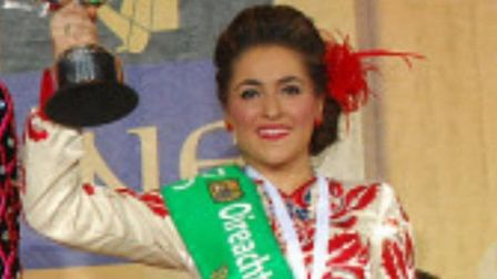 Saorise Ni Machail who claimed fifth place at the world championships