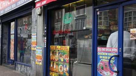 Fast food restaurants like these on Willesden High Road could soon be barred from opening