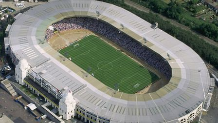 How the stadium used to look