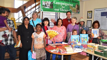 Friends of Barham Library book giveaway was a success