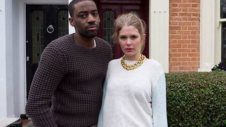 Ashley Thomas appears in At First Sight with Hannah Arterton