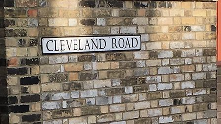 Cleveland Road in Lowestoft where five townhouses are being proposed for a new supported housing sch