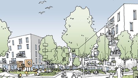 How the Tollgate Gardens Estate could look