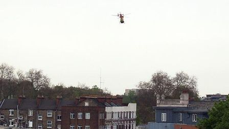 London's Air Ambulance treated woman in Finsbury Park