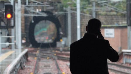 The incident caused delays to services this evening. Picture: David Cheskin/PA