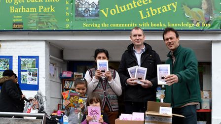 Friends of Barham and Preston Library are hosting a book giveaway in aid of World Book Night