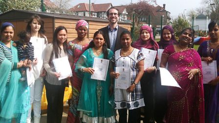 Mothers who successfully completed a course on parenting were honoured at a special ceremony