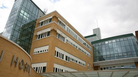 A 39-year-old man died after falling from the fourth floor of a window at the Whittington Hospital