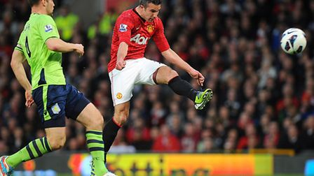 After seven successive seasons without a trophy for Arsenal, Robin van Persie's hat-trick saw him be