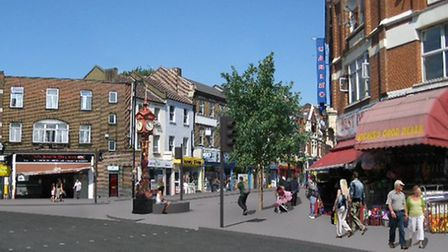 How the Jubilee clock will look after the regeneration project
