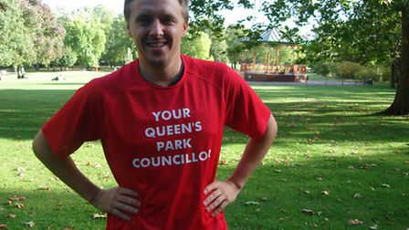 Cllr James Denselow has launched new methods of keeping in touch with residents