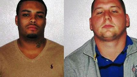 Alex Rogers and Billy Fitton have been jailed for a total of 16 years