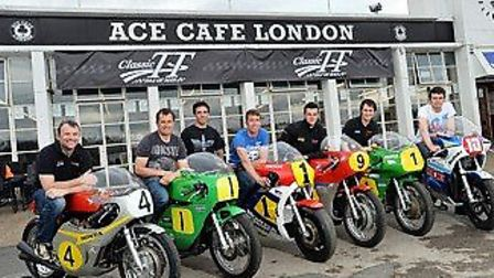 The Isle of Man will be teaming up with the Ace Cafe to promote the TT races