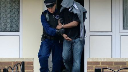 Police carried out dawn raids across 20 London boroughs including Brent