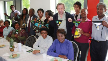 The Club @ St John's marked World Fair Trade Day on Saturday