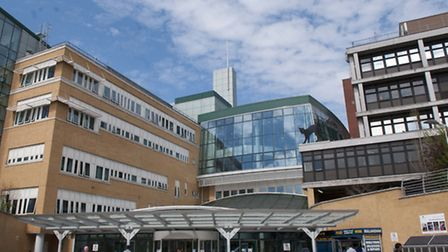 Hospital bosses are considering the sell off of a third of the Whittington Hospital site as part of
