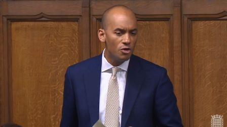 Chuka Umunna in the House of Commons (Photograph: Parliament TV)