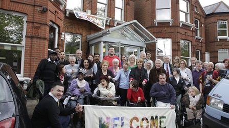 Residents are fighting to open the People's Centre for Change in Kilburn