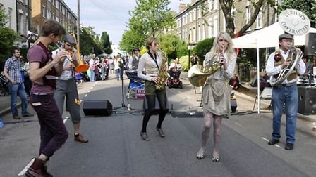 The Mayton Street party signals the start of the Holloway Arts Festival