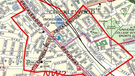 Brent, Barnet and Camden have teamed up to roll out a dispersal zone in Cricklewood