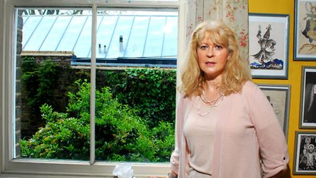 """Room with a view? Lady Valerie Rossmore's view has been """"blighted"""" by the roof terrace"""
