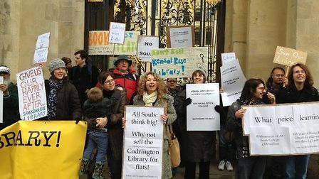 Members of the Friends of Kensal Rise Library