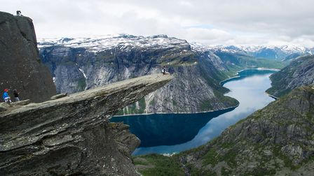 Trolltunga in Hordaland, Norway. Picture: Getty Images