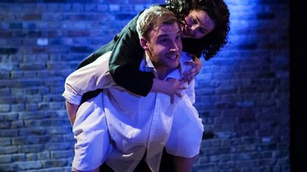 Jennifer Kidd as Larisa and Sam Philips as Sergei Paratov in Larisa and the Merchants by Alexander O