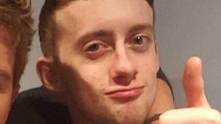 Jordan Grimmer from Carlton Colville fell and hit his head while holidaying with friends. Picture: C