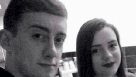 """Shannon-Louise Grimmer (pictured with her brother) said: """"Things are looking as good as they can rig"""