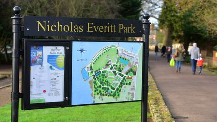 Nicholas Everitt Park, Oulton Broad.PHOTO: Nick Butcher
