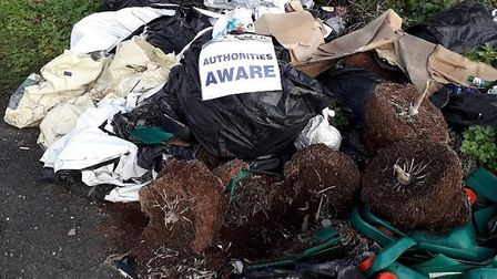 Waveney District Council is 'investigating' after a string of fly-tipping incidents in Rushmere and