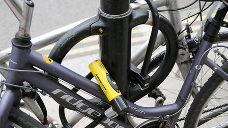 The cycle hoops can be found sticking out either side of traffic posts across the borough. But cycli