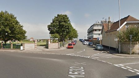 Kensington Road, in Pakefield, will be closed for up to 16 weeks. Picture: Google