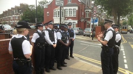 Safer Neighbourhoods officers from Barnet, Brent and Camden, working in partnership with the Local A