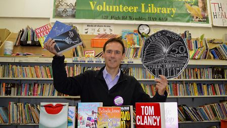 Cllr Paul Lorber is a member of Friends of Barham Library