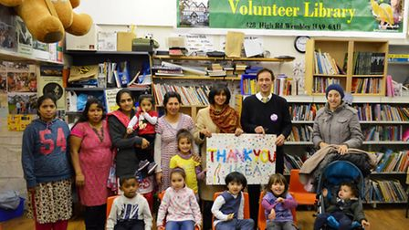 The community library run by Friends of Barham Library will be one in August