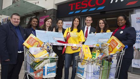 Tesco Metro in Wembley opened its doors for the first time yesterday