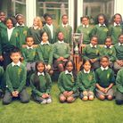 John Keble CE Primary who have been named the best primary school choir in Brent 2013